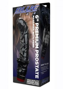 Candamp;B Gear Premium Prostate Massager With Veins 6in - Black