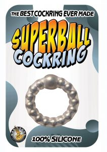 Superball Cockring - Clear