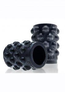 Bubbles Silicone Nipple Suckers - Black