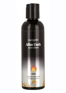 After Dark Essentials Sizzle Ultra Warming Water Based Personal Lubricant 4oz
