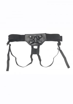 Addiction Strap-On Harness - One Size - Black