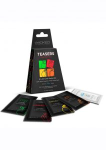 Wicked Teasers Fresh Fruit Lubricant Packettes (8 pack) - Assorted Flavors